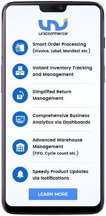 Unicommerce Mobile Applications